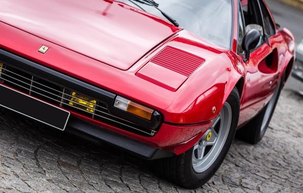Picture Ferrari, supercar, red, classic, 308