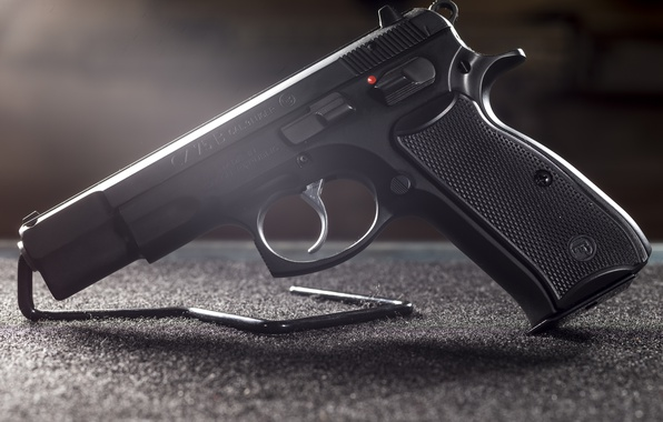 Photo wallpaper CZ 75B, gun, self-loading, Czechoslovakia
