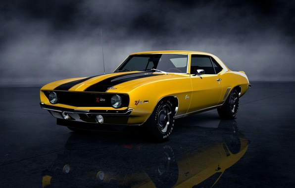 Picture machine, Chevrolet, car, camaro, muscle car