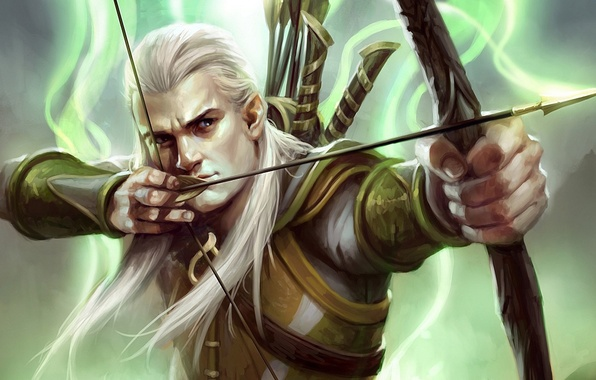 Picture elf, bow, the Lord of the rings, art, lord of the rings, Legolas, Guardians of …