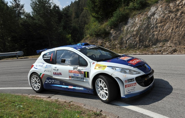 Picture Road, Wheel, Race, Peugeot, WRC, Rally, Rally, 207