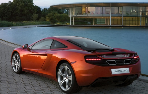 Picture McLaren, Water, House, MP4