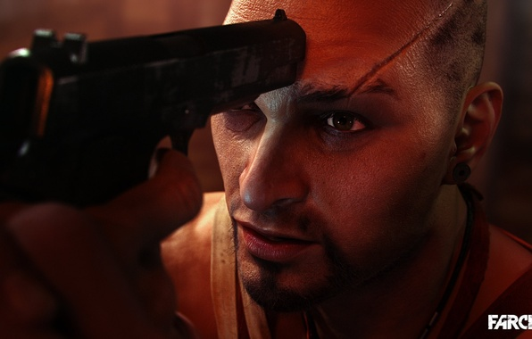 Picture Look, Logo, Weapons, Logo, Scar, Vaas Montenegro, Far Cry 3