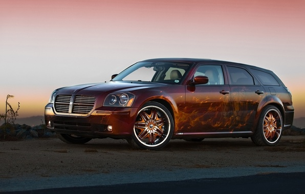 Picture tuning, Dodge, airbrushing, Dodge, Magnum, universal