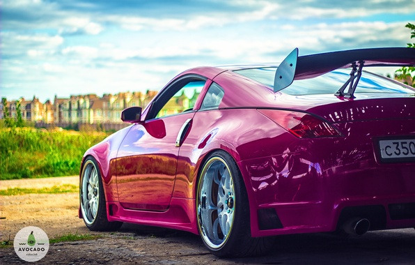 Picture nissan, 350z, pink