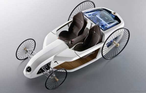 Picture machine, auto, concept, white, Roadster, Mercedes, benz, roadster, mersedes, benzo, f-cell