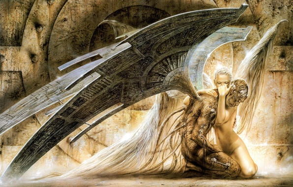 Picture Angel, Angel, Luis, Royo