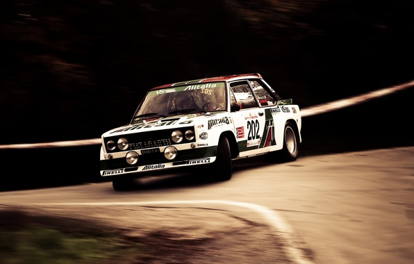 Picture Turn, WRC, Rally, Rally, Fiat, Pirelli, Walter Rohrl, Abarth 131