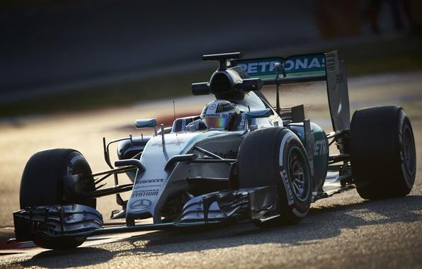 Picture formula 1, Mercedes, the car, Mercedes, AMG, Hybrid, AMG, 2015, W06