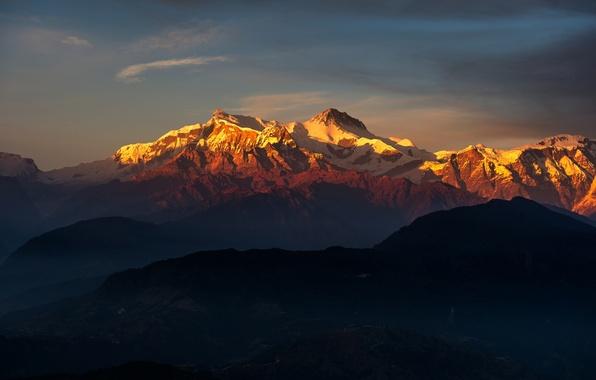Picture landscape, mountains, nature, Tibet