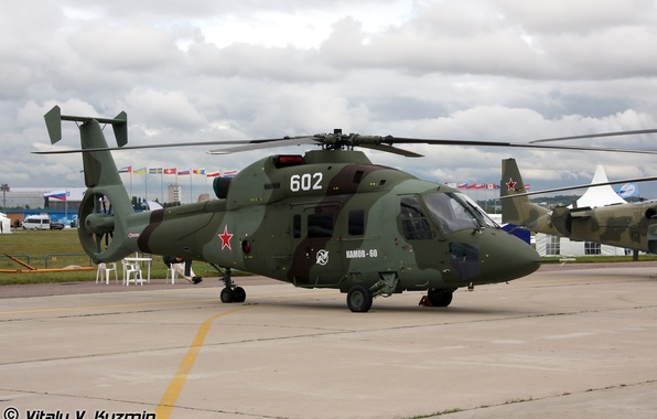 Picture helicopter, whale, military transport, ka 60