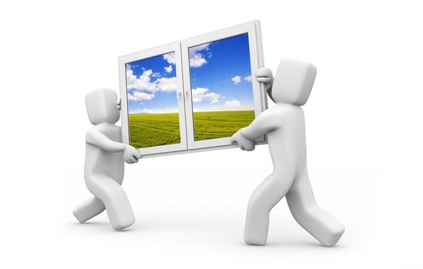 Picture movement, window, Windows