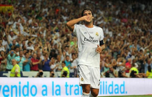 Picture football, real madrid, real Madrid, football, Raul, Raul, farewell match Raul 2013