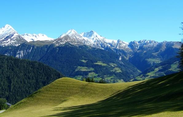 Picture landscape, mountains, nature, the slopes, Austria, Alps