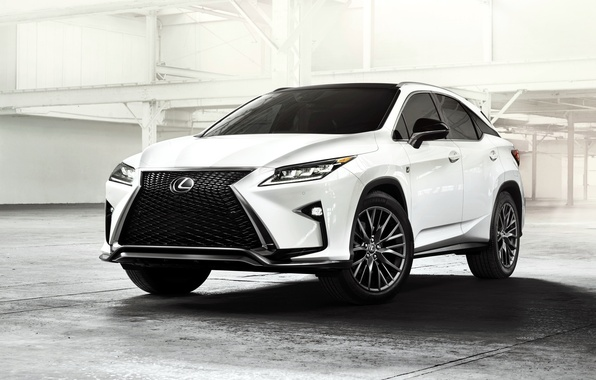 Picture white, Lexus, Lexus, SUV, F-Sport, 2015, RX 350