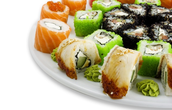 Picture Food, art, sushi, tarelka
