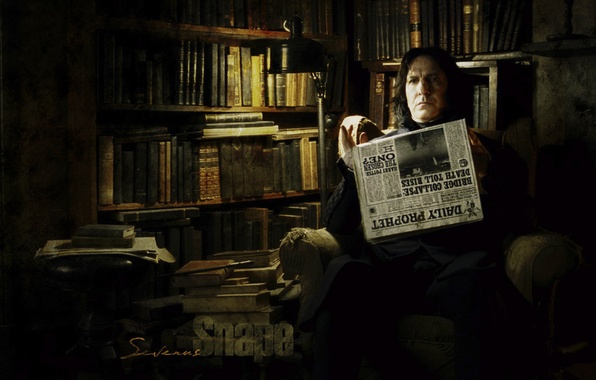Picture books, newspaper, Harry Potter, Severus Snape, Alan Rickman, Alan Rickman, Severus Snape, Severus Snape, harry …