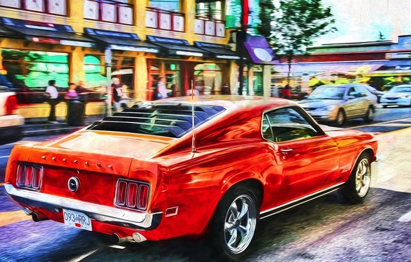 Picture Mustang, Ford, muscle car, Muscle car