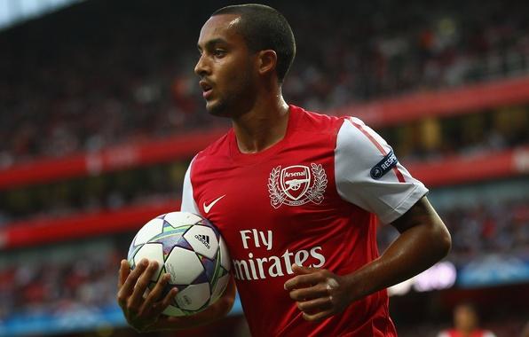 Picture football, Champions League, arsenal london, Theo volkot, Theo Walcott