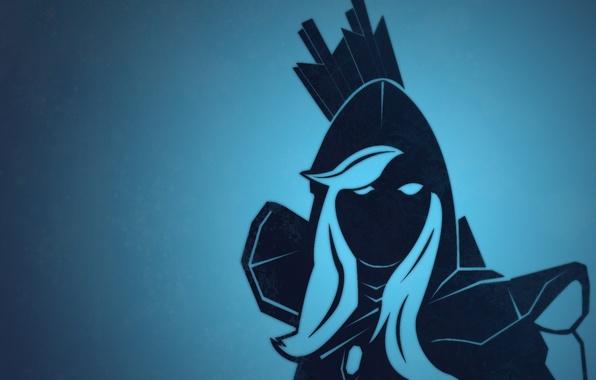 Drow Ranger Dota 2 Immortals: Wallpaper Wallpaper, Blue, Dota 2, Drow Ranger Images For