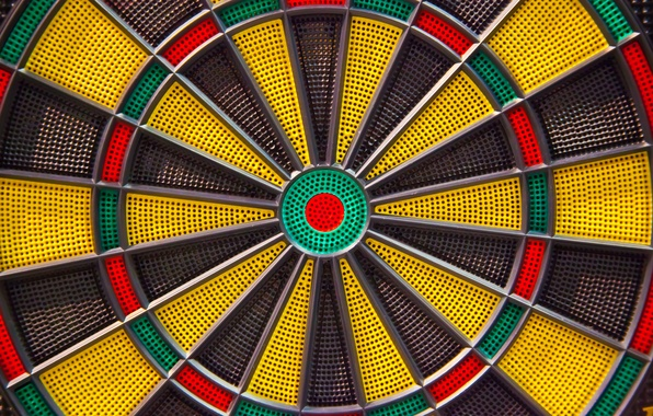 Picture the game, Darts, target