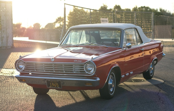 Picture Dodge, classic, 1965, the front
