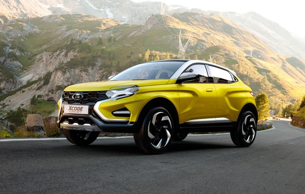 Picture Concept, Yellow, Lada, Lada, Cars, 2016, XCODE