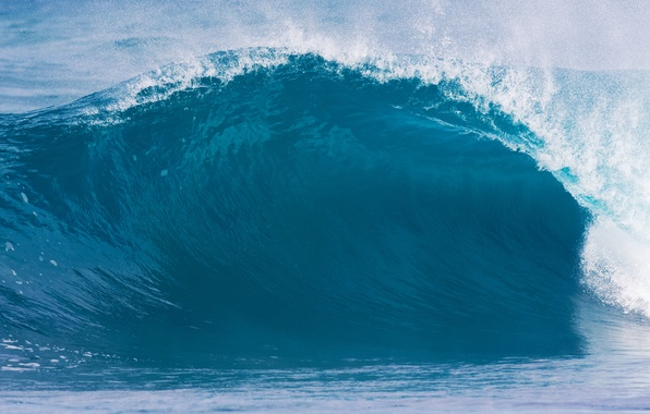 Picture sea, wave, summer, drops, squirt, nature, the ocean, power, element, elements, wave, drop, power, photos ...