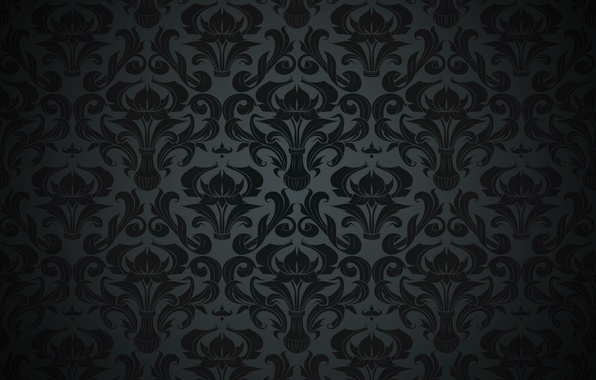 Black Vintage Wallpaper | www.pixshark.com - Images ...