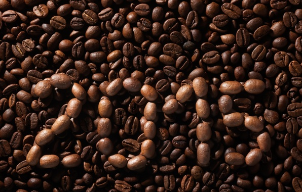 Picture texture, background, beans, coffee, 2015