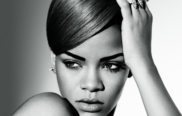 Picture face, singer, Rihanna, celebrity, Rihanna