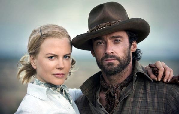 Picture the film, Australia, actors, Nicole Kidman, Hugh Jackman, Hugh Jackman, Australia, Nicole Kidman