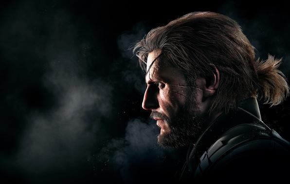 Picture Light, Beard, Metal Gear, Scar, Konami, Kojima Productions, Metal Gear Solid V: Ground Zeroes