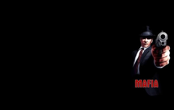 Picture darkness, gun, gangster, the city of lost heaven, Mafia