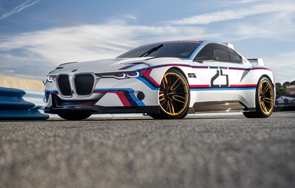 Picture car, BMW, 3.0 CSL, Hommage R