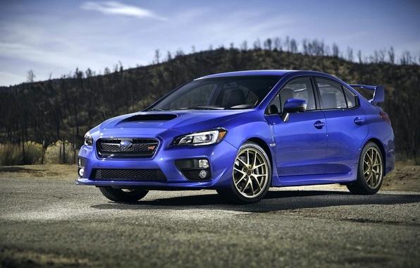 Picture Subaru, Impreza, Machine, WRX, STI, Subaru, STI, 2015