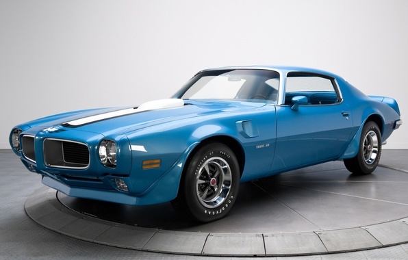 Picture Pontiac, 1970, the front, Firebird, Muscle car, Muscle car, Trans Am, Ram Air III, Pontiac.Feared