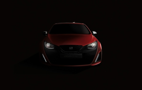 Picture machine, auto, red, cars, seat, Seat Bocanegra, auto wallpspers