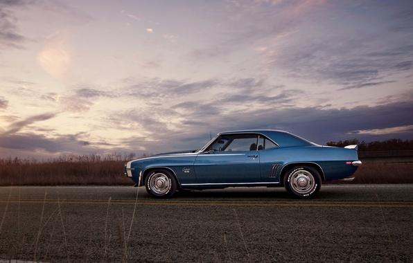 Picture road, 1969, Camaro