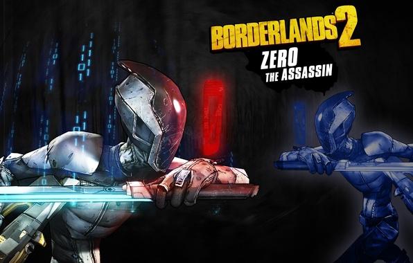 Picture sword, Assassin, RPG, 2K Games, Borderlands 2, Gearbox Software, Unreal Engine 3, Zero, FPS