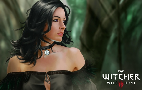 Picture girl, brunette, The Witcher, The Witcher 3: Wild Hunt, Yennefer of Vengerberg, yennefer