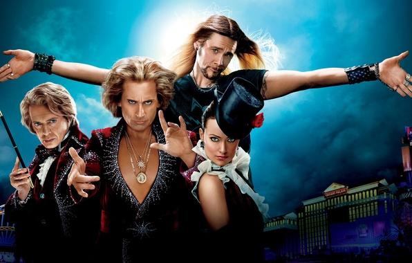 Picture Jim Carrey, Olivia Wilde, Steve Carell, The Incredible Burt Wonderstone, Steve Buscemi
