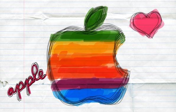 Picture figure, apple, mac