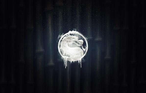 Picture logo, mortal kombat, sub zero, bring the cold