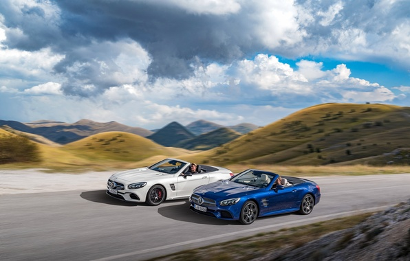 Picture road, Mercedes-Benz, Mercedes, AMG, AMG, R231, SL-Class