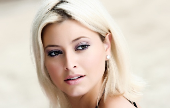 Picture look, girl, face, people, portrait, makeup, actress, blonde, beauty, singer, Holly Valance, Holly Valens