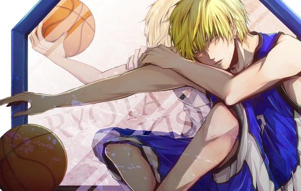 Picture movement, the ball, form, guy, Kuroko From Basket, Kuroko's basketball, Kise Ryouta