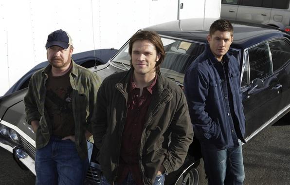 Picture actor, the series, brothers, supernatural, Sam, supernatural, Dean, jensen ackles, over the padalecki jared, Jared …