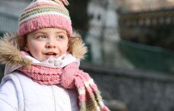 Picture happiness, children, city, the city, child, scarf, girl, cute, beautiful, stylish, beautiful, child, cute, children, …