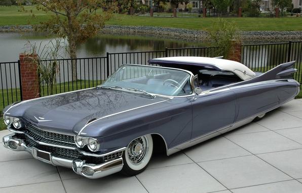 Picture retro, Eldorado, Cadillac, 1960, convertible